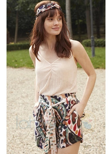 Miss Loren Pijama Takım Renkli